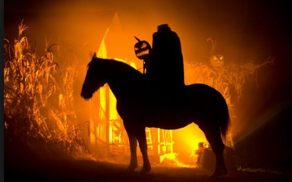 Headless horseman of the Legend of Sleepy Hollow